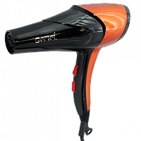 Фен Gemei GM 1766 2600 Вт Черно-оранжевый, фото 1