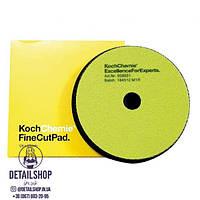 Koch Chemie Fine Cut Pad Губка середнього ступеня абразивності для видалення помірної ерозії і подряпин 126 x 23