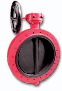 Затвор дисковый FLANGED [F] DN 150 фланцевый поворотный Xurox Испания
