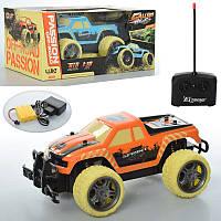 Машина на радіокеруванні, акумулятор, 1:18, небиткий корпус, гумовіколеса, 2 кольори, в коробці, 31-16-14 см