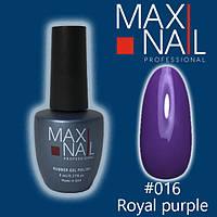 Гель-лак MaxiNail rubber gel polish №016