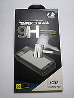 Tempered glass Защитное стекло 4G/4S 0.3 mm 2.5D