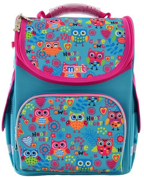 555930 Модный каркасный рюкзак Smart PG-11 Funny owls 26*34*14
