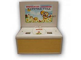 Міні-інкубатор (130 яєць) з мех.перевор.пл.кор./ел.-цифровий ТМКУРОЧКА РЯБА
