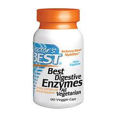 Ферменты энзимы Doctor's BEST Digestive Enzymes (90 капс) доктор бест