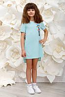 Платье детское Love мята, фото 1