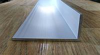 Уголок алюминий, анод 100х40х4, анод, фото 1