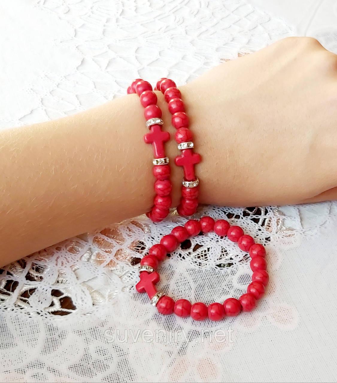 Красивый модный браслет на руку