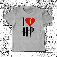 "Детская футболка ""I love Horry Potter"", фото 1"