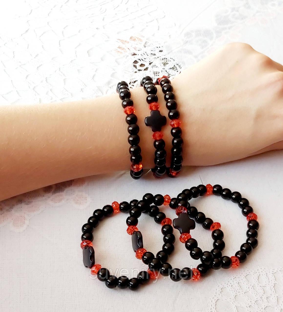Сучасные браслеты на руку с крестом