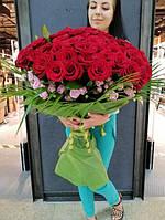 Доставка Роз!!! Букет 51,101, 201 Роза!!! Самая низкая, оптовая цена!!