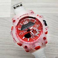 Часы наручные (в стиле) Casio G-Shock GG-1000 (белый-красный)