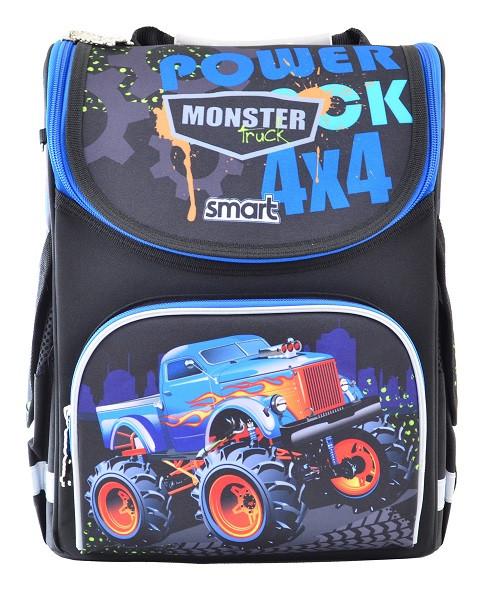 555977 Каркасный рюкзак для мальчиков Smart PG-11 Power 4*4 26*34*14