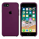 Силиконовый чехол Apple Silicone Case Marsala для iPhone 7/8, фото 2