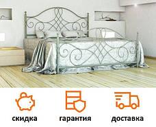 Кровать металлическая Парма Металл дизайн / Parma Bella Leto, фото 2