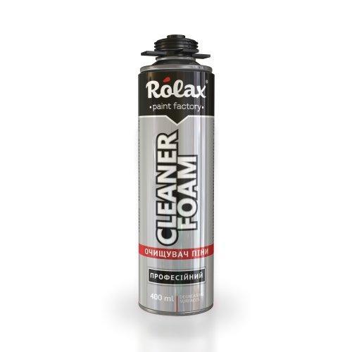 Очиститель монтажной пены профессиональный «Foam Cleaner» 400мл Ролакс