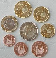 Іспанія , набір монет євро 2019 р . UNC
