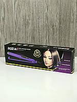 Утюжок-выпрямитель профессиональный для волос ROZIA HR719, цвет фиолетовый, фото 1