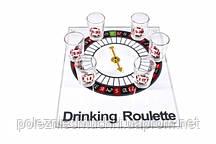 Рулетка алкогольная на стеклянной доске