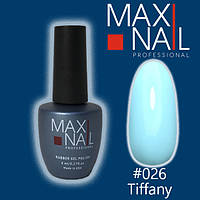 Гель-лак MaxiNail rubber gel polish №026, фото 1