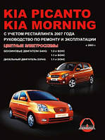 Руководство по ремонту и эксплуатации Kia Morning с 2003 г.