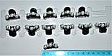 Крабики для волосся c перлами (12 шт), фото 3