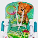 Детский стульчик для кормления бирюзовый JOY , фото 6