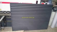 Металлический забор Жалюзи Престиж 80/90 мм без сборки