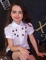 Блузка Свит блуз мод. 7085к  с камнями Сваровски р.134, фото 1