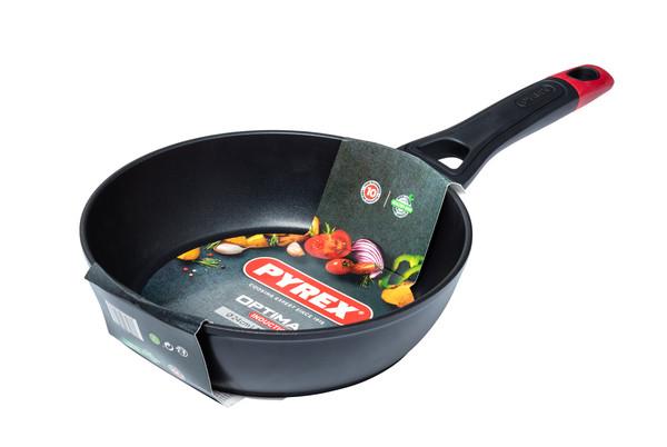 Сковорода PYREX OPTIMA+ глуб. сковорода 28 см индукция б/крышки (OT28DF6)