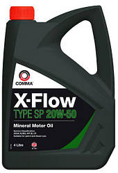 Моторне масло COMMA X-FLOW SP MIN. 20W50 4л
