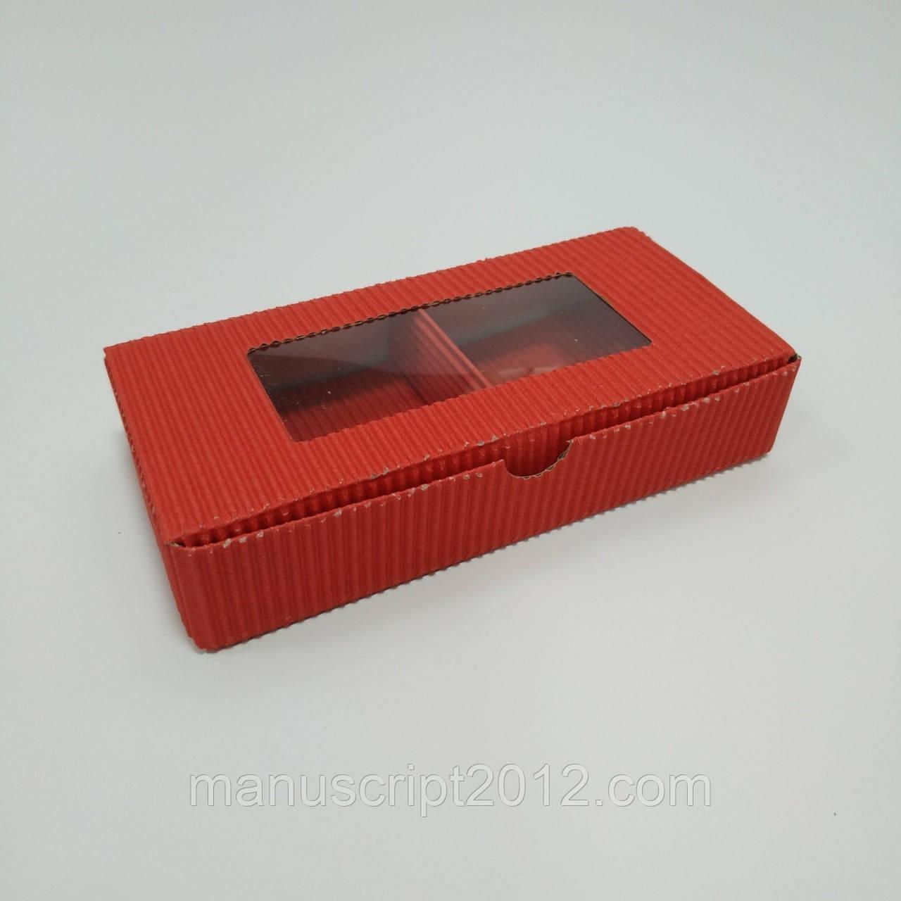 Коробка универсальна 185х95х35 мм. червона