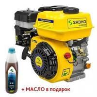 Двигатель бензиновый Sadko GE 200 PRO (воздушный фильтр в масляной ванне)