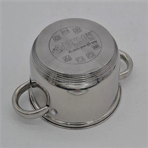 Набор кастрюль из нержавеющей стали 10 предметовBenson BN-207