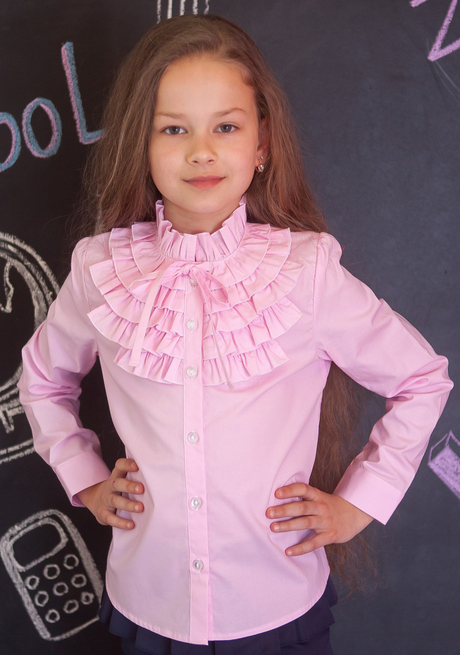 Блузка Свит блуз мод.2093 розовая р.152