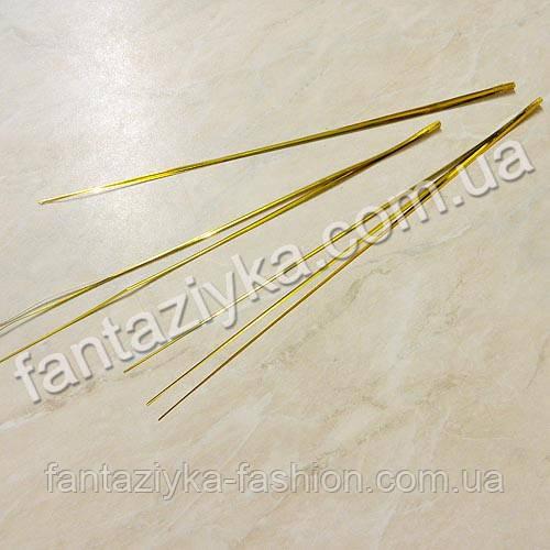 Берграсс длинная травка 26см золотая