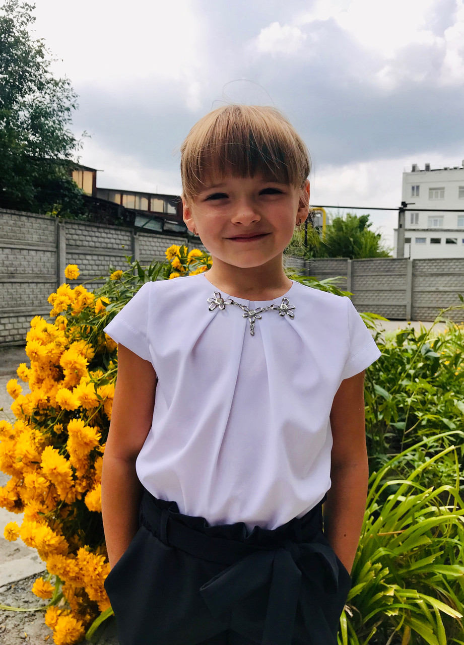 Блуза Колье