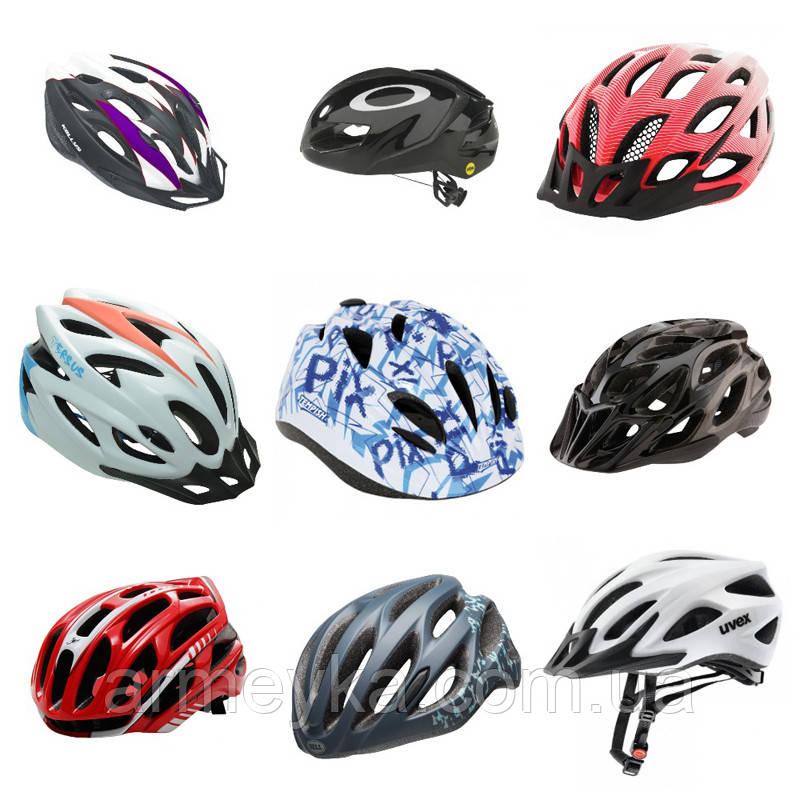 Велосипедні шоломи MIX. Оригінал.