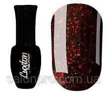Гель-лак Luxton № 001 (черный с красными блестками), 10 мл
