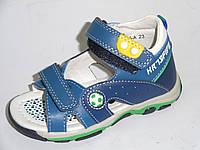 Летние босоножки, сандали из натуральной кожи для мальчиков тм Bi&ki  21, 23, 25, 26р.