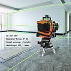 Лазерный уровень Prostormer 3D 12 линий ★ ЗЕЛЕНЫЙ ЛУЧ ★, фото 6
