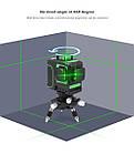 Лазерный уровень Muli 3D 12 линий ► ЗЕЛЕНЫЙ ЛУЧ, фото 6