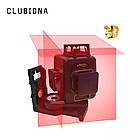 Лазерный уровень Clubiona 3D 12 ліній, лазерний рівень, фото 3