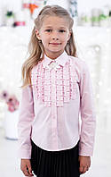 Блузка Свит блуз  мод. 5178д розовая р.122