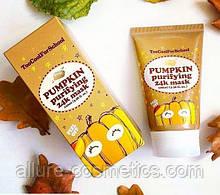 Маска-пленка с экстрактом семян тыквы и золотом TOO COOL FOR SCHOOL Pumpkin Purifying 24K Mask