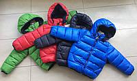 Куртка зимняя на мальчика 1-2 года еврозима