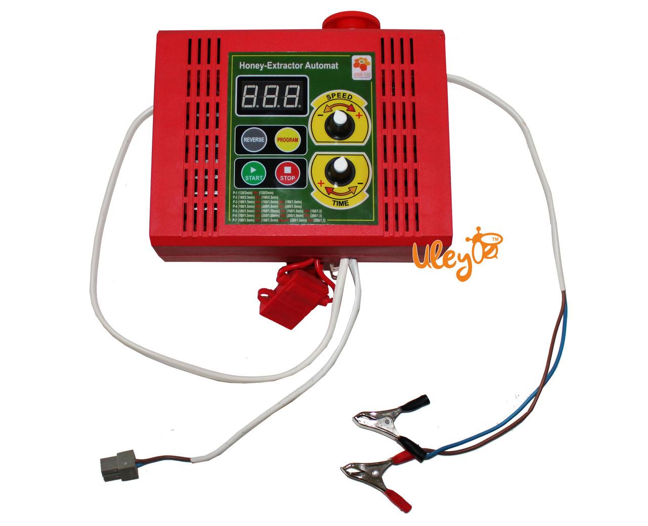 Пульт управления для ременного электропривода медогонки 12 В (с кнопкой аварийного выключения)