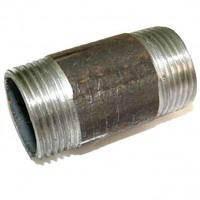 Ніпель бочонок Ду 32 сталь, фото 2