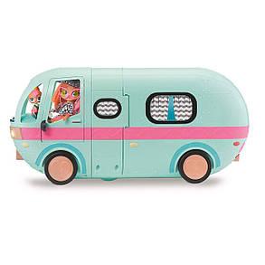 Кемпер ЛОЛ Глемпер 2 в 1 Дом на колесах L.O.L. Surprise! 2-in-1 Glamper Fashion Camper, фото 2