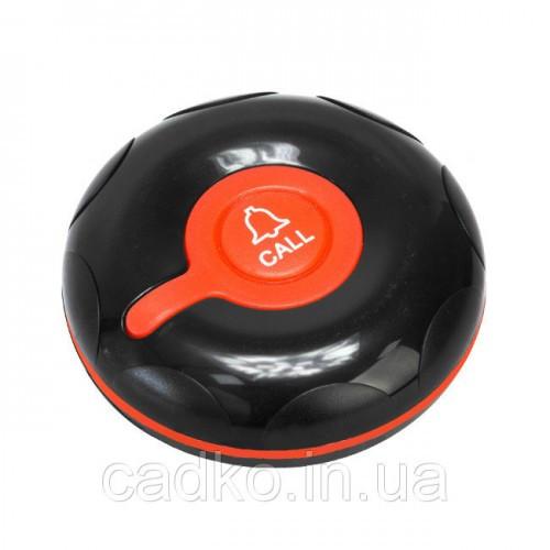 Водозащищенная кнопка вызова медперсонала R-300 Black/Red Recs USA